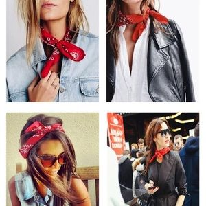 Small Red Scarf